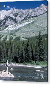 Acrylic Print featuring the photograph Gone Fishin by Jim Sauchyn