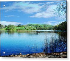 Gone Fishing 2 Acrylic Print by Peter Jenkins
