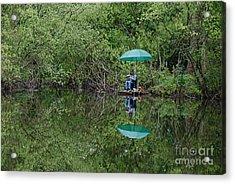 Gone Fishing Acrylic Print by Doug Thwaites