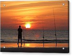 Gone Fishing Acrylic Print