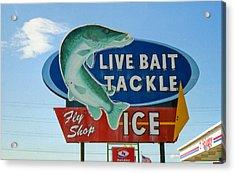 Gone Fishing Acrylic Print by Matthew Bamberg