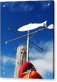 Acrylic Print featuring the photograph Gone Fishing by Charlie and Norma Brock