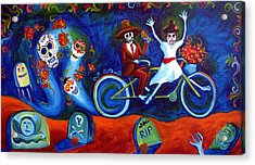 Gone With The Wind Day Of The Dead Acrylic Print