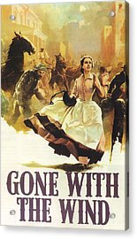 Gone With The Wind Acrylic Print by Georgia Fowler