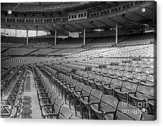 Good Seats At Wrigley Acrylic Print by David Bearden