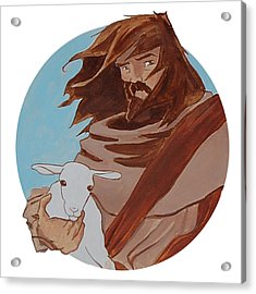 Good Shepherd 2 Acrylic Print by Miguel De Angel