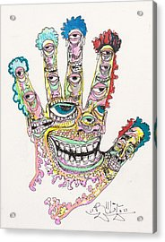 Good Time Acrylic Print by Robert Wolverton Jr