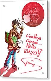 Goodbye Acrylic Print