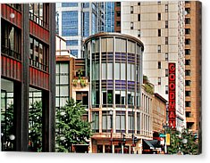 Goodman Theatre Chicago Illinois Acrylic Print by Christine Till