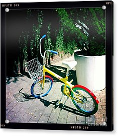 Acrylic Print featuring the photograph Google Mini Bike by Nina Prommer