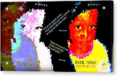 Google The Word - Talibe Acrylic Print