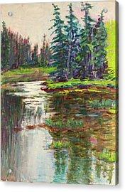 Goose Cove In Acadia Acrylic Print