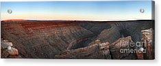 Gooseneck Canyon Acrylic Print by Jane Rix