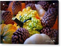 Acrylic Print featuring the photograph Gourds 2 by Deniece Platt