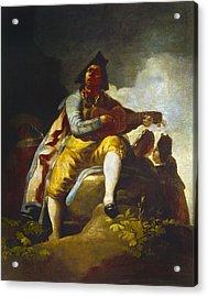 Goya: Guitarist Acrylic Print by Granger
