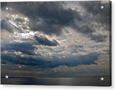 Gozo Skies Acrylic Print by Eric Tressler