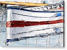 Gozzo Bianco Acrylic Print by Giovanni Marco Sassu