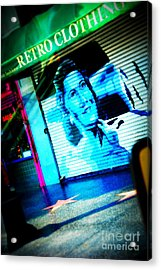 Grab A Star On Sunset Boulevard In Hollywood Acrylic Print by Susanne Van Hulst