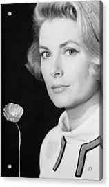Grace Kelly (1928-1982) Acrylic Print by Granger