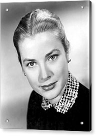 Grace Kelly, 1952 Acrylic Print by Everett