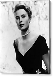 Grace Kelly, 1956 Acrylic Print by Everett