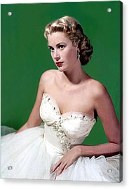 Grace Kelly, C. Mid-1950s Acrylic Print by Everett