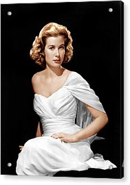 Grace Kelly, Ca. 1954 Acrylic Print by Everett