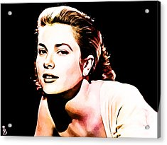 Grace Kelly Acrylic Print by The DigArtisT