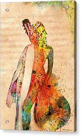 Gracias A La Vida Que Me Ha Dado Tanto Acrylic Print by Mark Ashkenazi