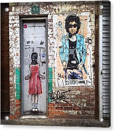 Graffiti Artist Acrylic Print