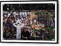 Graffiti Acrylic Print by Mark Britten