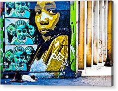 Graffiti Acrylic Print by Stefano  Figalo