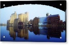 Grand Canal, Dublin, Co Dublin, Ireland Acrylic Print