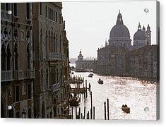 Grand Canal Venice 01 Acrylic Print by Carlos Diaz