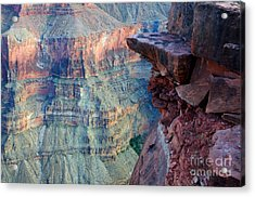 Grand Canyon A Place To Stand Acrylic Print by Bob Christopher