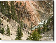 Acrylic Print featuring the photograph Grand Canyon And Yellowstone River by Living Color Photography Lorraine Lynch