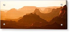 Grand Canyon At Dusk Acrylic Print by C Thomas Willard