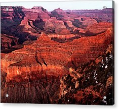 Acrylic Print featuring the photograph Grand Canyon by James Bethanis