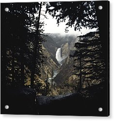 Acrylic Print featuring the photograph Grand Canyon Of The Yellowstone  by J L Woody Wooden