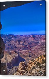 Grand Canyon Overlook Acrylic Print by Jeremy Linot