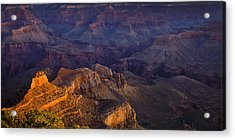 Grand Canyon Panorama Acrylic Print by Andrew Soundarajan