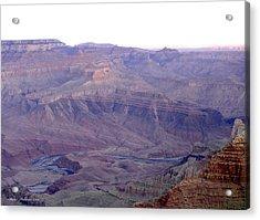 Grand Canyon Pastiche Acrylic Print