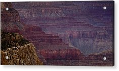 Grand Canyon Ridges Acrylic Print by Andrew Soundarajan