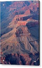 Grand Canyon Rims Acrylic Print by Olga Vlasenko