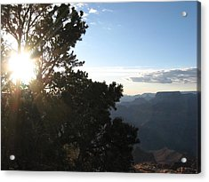 Grand Canyon Sun Acrylic Print