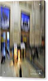 Acrylic Print featuring the photograph Grand Central Station Italian Style by Andy Prendy