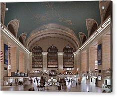 Grand Central Station The Main Acrylic Print by Everett