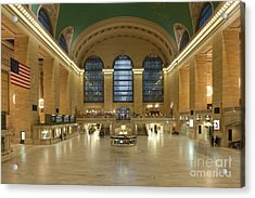 Grand Central Terminal I Acrylic Print by Clarence Holmes