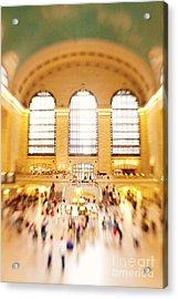 Grand Central Terminal New York City Acrylic Print by Kim Fearheiley