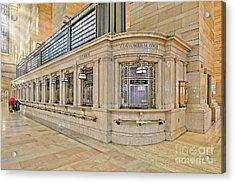 Grand Central Terminal Acrylic Print by Susan Candelario